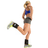 Female performing Hamstring Curls with Adjustable Ankle Weights