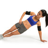 Female performing Side Plank w/ GoSlim Arm Slimmers