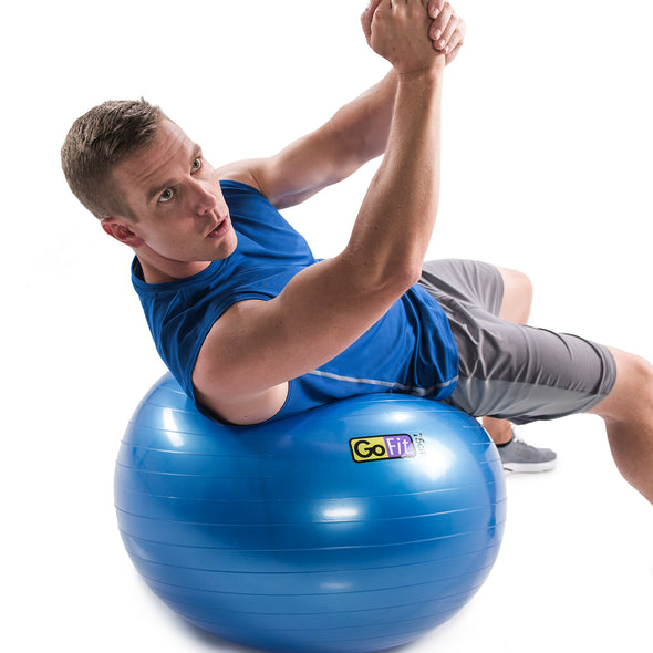 Male on 75cm Stability Ball