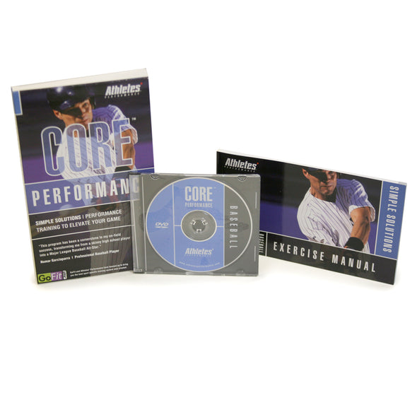 Core Performance Baseball Training DVD