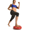 Female lunging on Core Stability and Balance Disk
