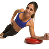 Female performing Side Plank on Core Stability and Balance Disk