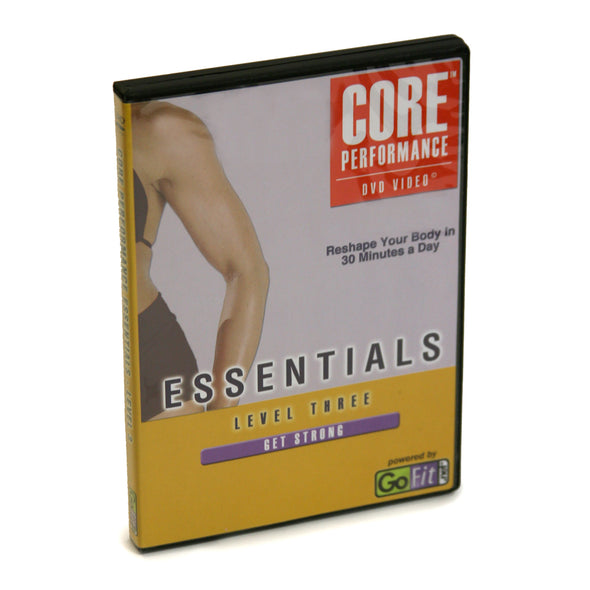 Core Performance Essentials Workout DVD