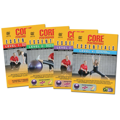 All 4 Levels Core Performance Essentials Workout DVDs