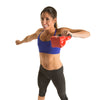 Female doing High Pull exercise with Contour Kettlebell