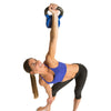 Female doing High Windmill exercise with Contour Kettlebell