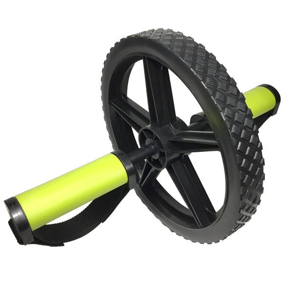 3/4 view Extreme Ab Wheel Hand Grips