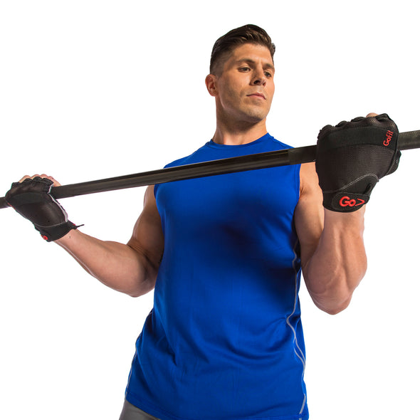 Male using Xtreme Training Gloves with Articulated Grip