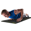 Male performing Push Ups on Guide Mat