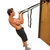 MAle utilizing Gravity Straps Body Weight Trainer