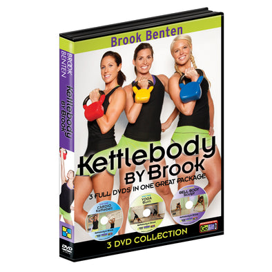Kettlebody By Brook Benten Workout DVD (Set of 3)