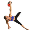 Female performing Turkish Getup with 15lb Kettlebell