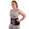 Full-Figure Pink Neoprene Waist Trimmer