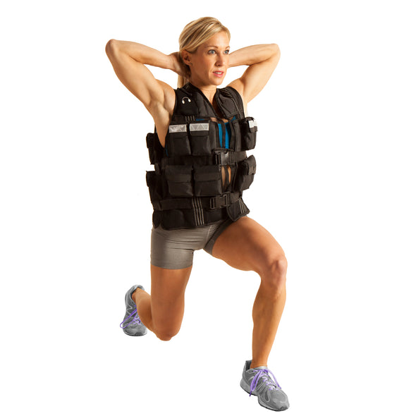 Female wearing Pro Weighted Vest