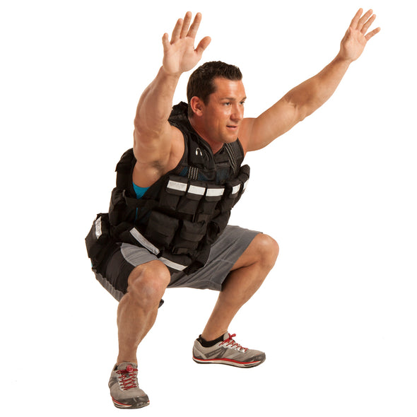 Male wearing Pro Weighted Vest