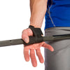 Ultra Padded Pro Wrist Straps wrapped on hand and bar