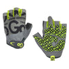 Women's Pro Trainer Gloves—Green/Gray