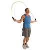 Male jumping with Heavy Jump Rope