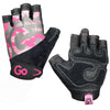 Women's Premium Leather Elite Trainer Gloves—Pink Cammo/Black
