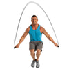 Male jumping w/ Weighted Jump Rope