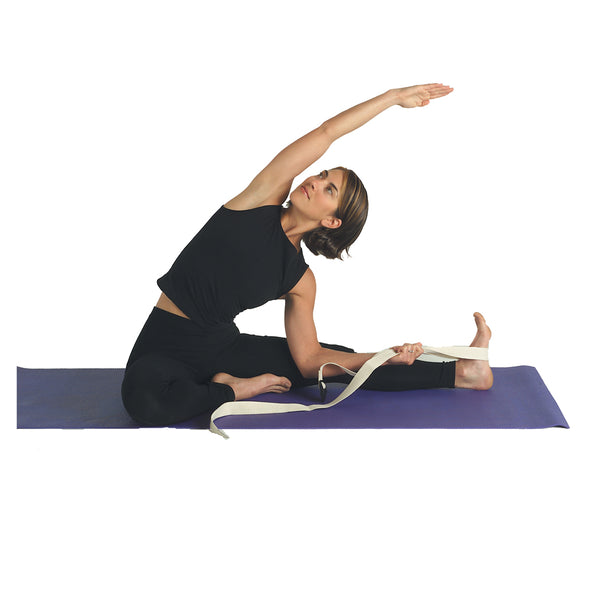 Female stretching with Complete Yoga Kit