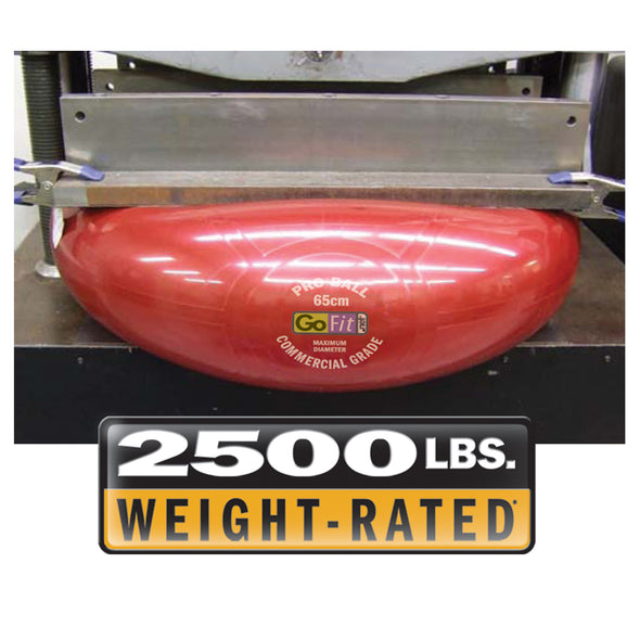2500lbs weight-rated