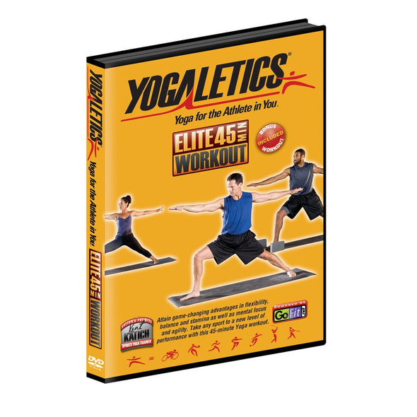 45 min Yogaletics DVD