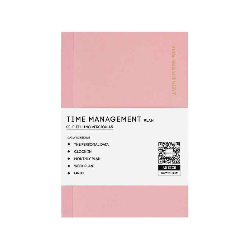 Time Management Planner Yearly / A5