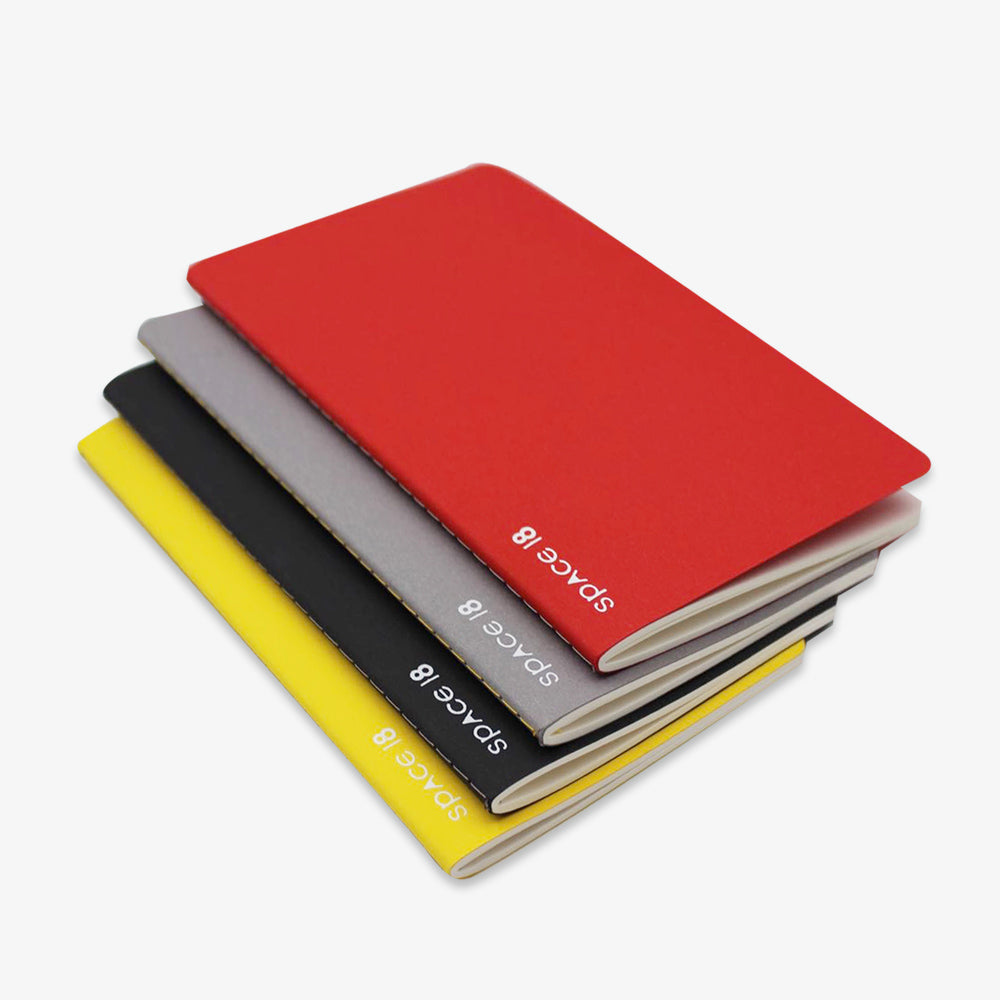 The Pure Heart Thread Bound Notebook Set (B) (4 Pieces)