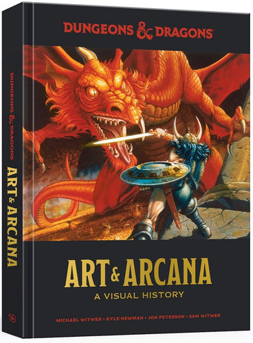 Dungeons & Dragons - Art and Arcana Visual History