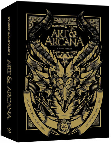 Dungeons & Dragons - Art and Arcana Visual History - Special Edition