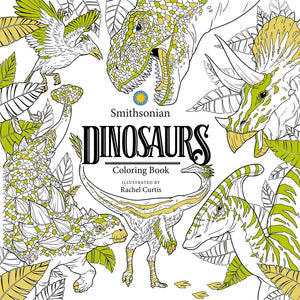 Dinosaur Smithsonian Coloring Book