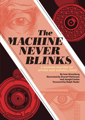 Machine Never Blinks HC - History of Spying & Surveillance