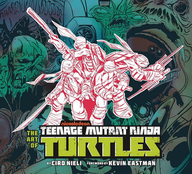 Art of Teenage Mutant Ninja Turtles (TMNT) Hc
