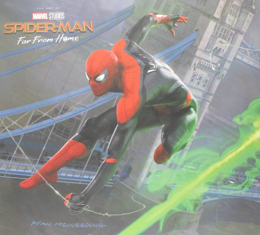 Art of Spider-man - Far From Home Hc