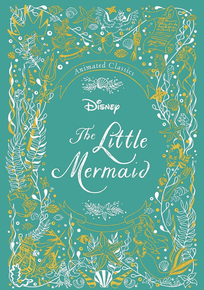 Disney Animated Classics Little Mermaid HC