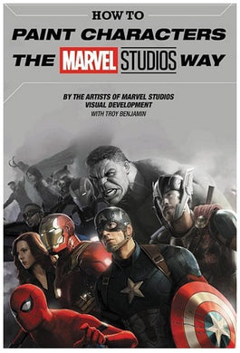 How to Paint Characters the Marvel Way Studios