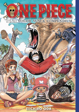 One Piece Color Walk Compendium 1 Hc
