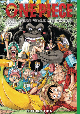 One Piece Color Walk Compendium 2 HC