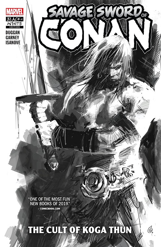 Copy of Savage Sword of Conan TP Vol 01 - Cult of Koga Thun (Black & White Edition)