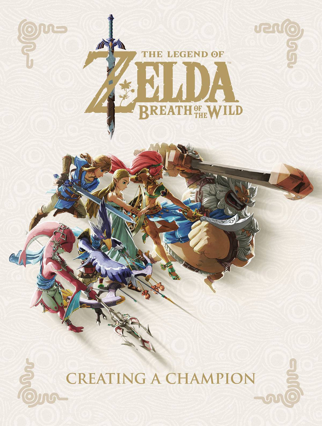 Art of Legend of Zelda - Breath of the Wild - Creating a Champion Hc