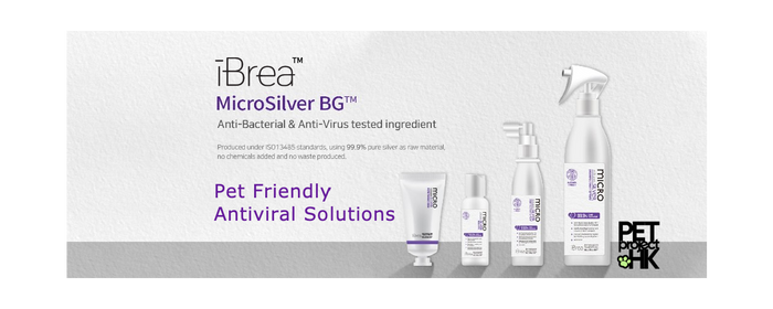 iBrea and Microsilver - Pet-Friendly Anti-Viral and Anti-Bacterial Products for the Home
