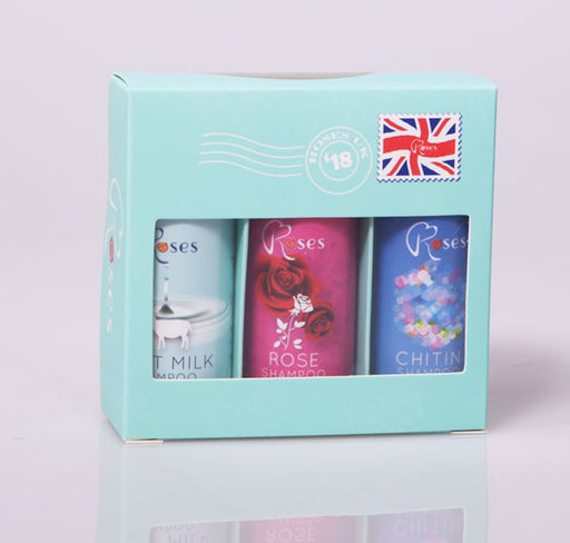 Roses - Shampoo Sampler Pack 50ML *3
