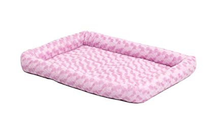 Midwest - Quiet Time Fashion Pet Bed - Pink (M)