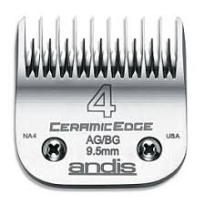 Andis - CeramicEdge High Tech Size 4 A5 A-5 Clipper Skip Tooth Blade - PetProject.HK
