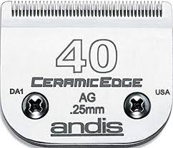 Andis - CeramicEdge Size 40 Rustproof Surgical Clipper Blade