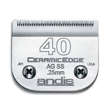 Andis - CeramicEdge Size 40 Stainless Steel Clipper Blade