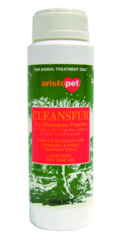 PetProject.HK: Aristopet - Cleansfur Ultra Absorbent Dry Shampoo Powder