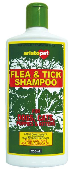 Aristopet - Flea and Tick Repellent Shampoo with Natural Tea Tree Oil (500ml) - PetProject.HK