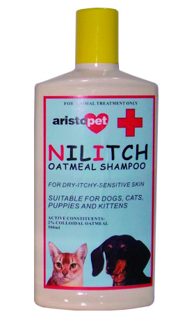 PetProject.HK: Aristopet - Nilitch Soothing Oatmeal Shampoo (500ml)